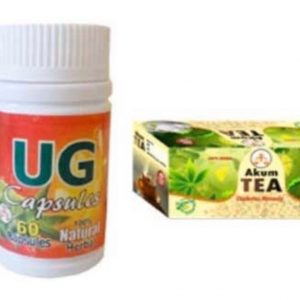 Ug capsule and Akum tea
