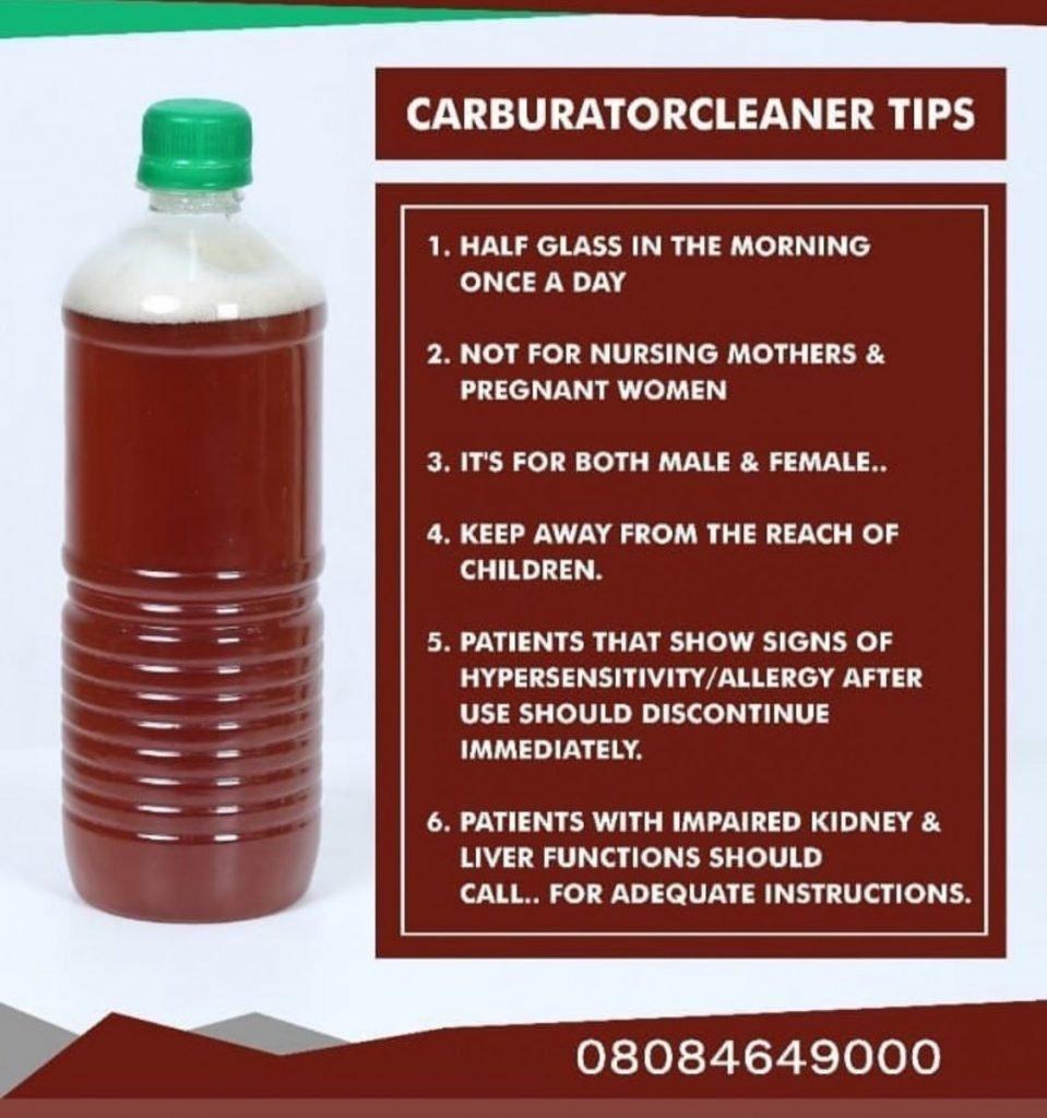 carburetor cleaner