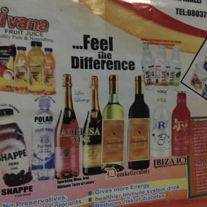 Natural Fruit Juice And Drinks In Nigeria.