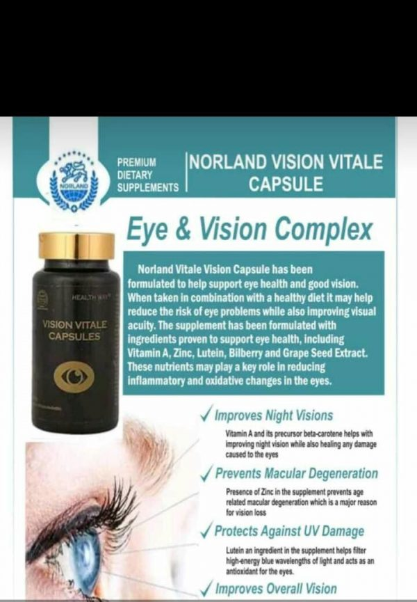 Buy Norland Eye And Vision Complex For Your Healthy Eye In Nigeria