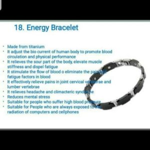 Best Energy Bracelet For Your Health For Sale