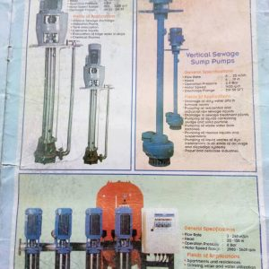 Vertical Sewage & Centrifugal Vertical Pumps In Nigeria