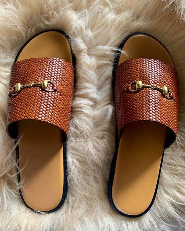 Simple Slide Men's Sandals Online