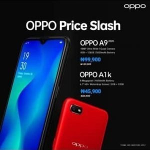 Oppo Price Slash For A9 & A1k