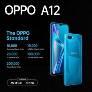 Buy Oppo A12 Standard In Nigeria
