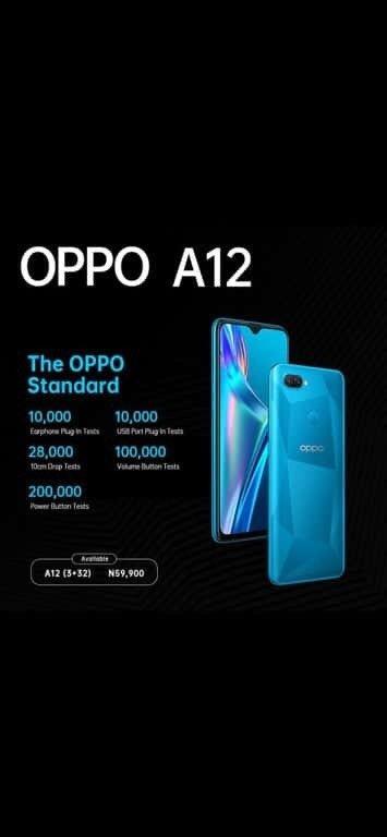 Buy Oppo A12 Standard In Abuja Nigeria