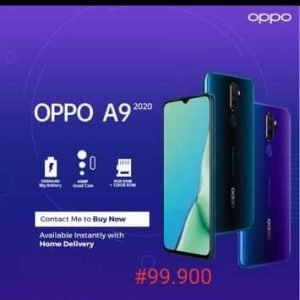 Buy Best Oppo A9 In Abuja Nigeria