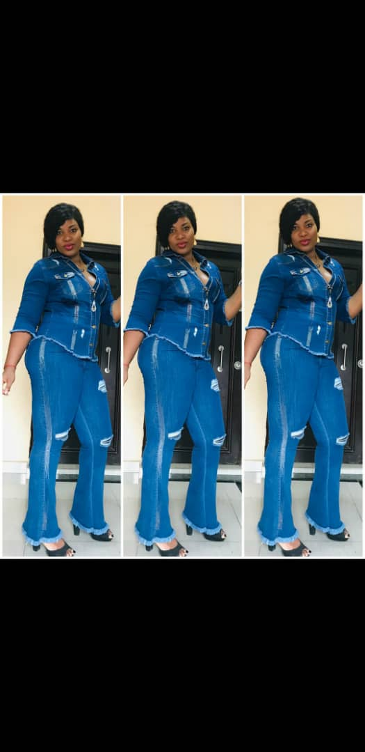 Buy Ladies Up And Down Turkey Jeans In Lagos