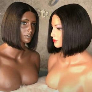 Buy 10'' Bob Wig With Human Hair Nigeria
