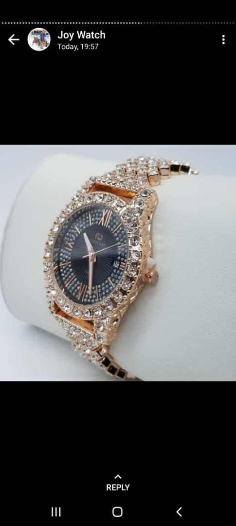 Buy Women's Iced Stone Wrist Watch In Nigeria