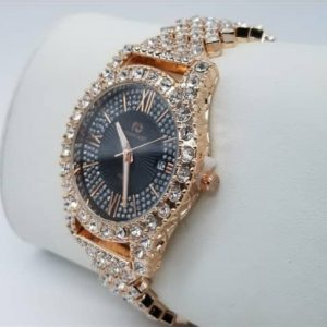 Best women's Iced Stone Wrist Watch For Sale