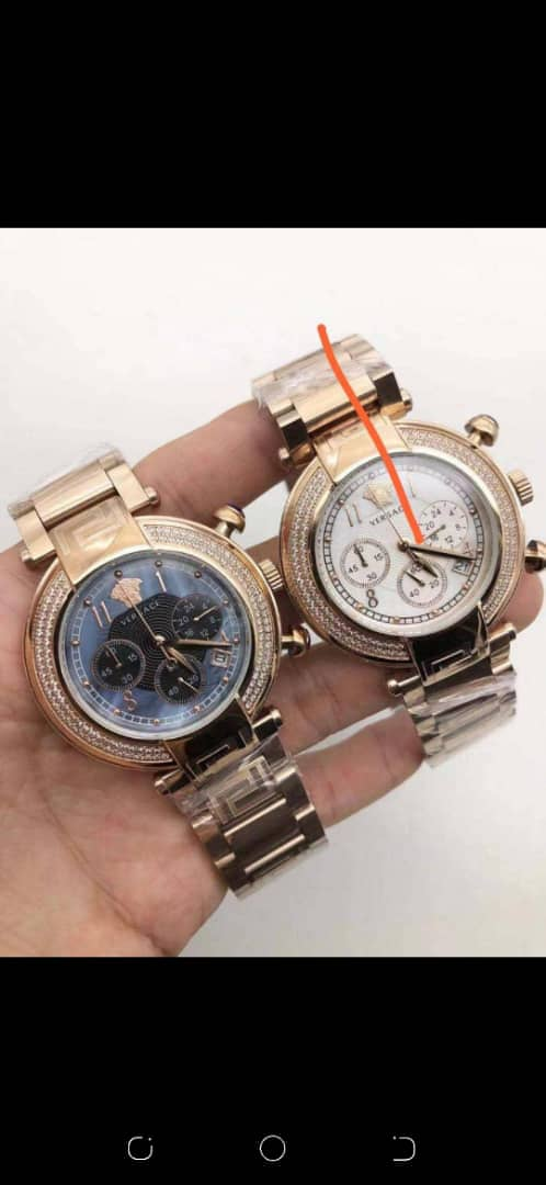 Buy Versace Chain Watch For Sale In Lagos