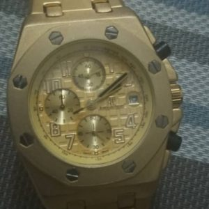 Best Ap Gold Chain Wrist Watch In Nigeria