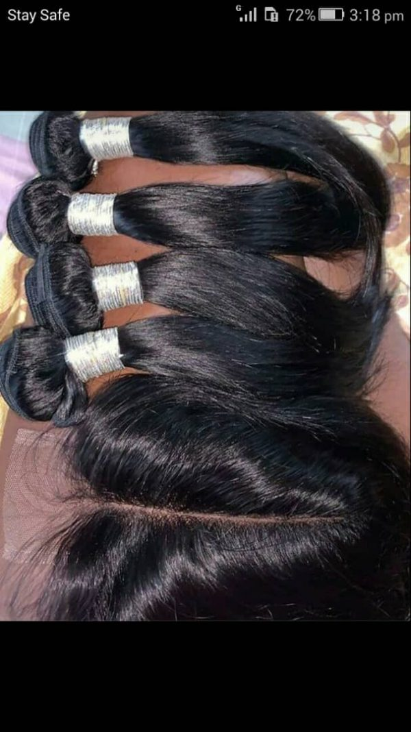 Buy Straight Human Hair Wigs In Nigeria