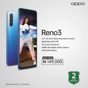 Latest Oppo Phones In Nigeria For Sale
