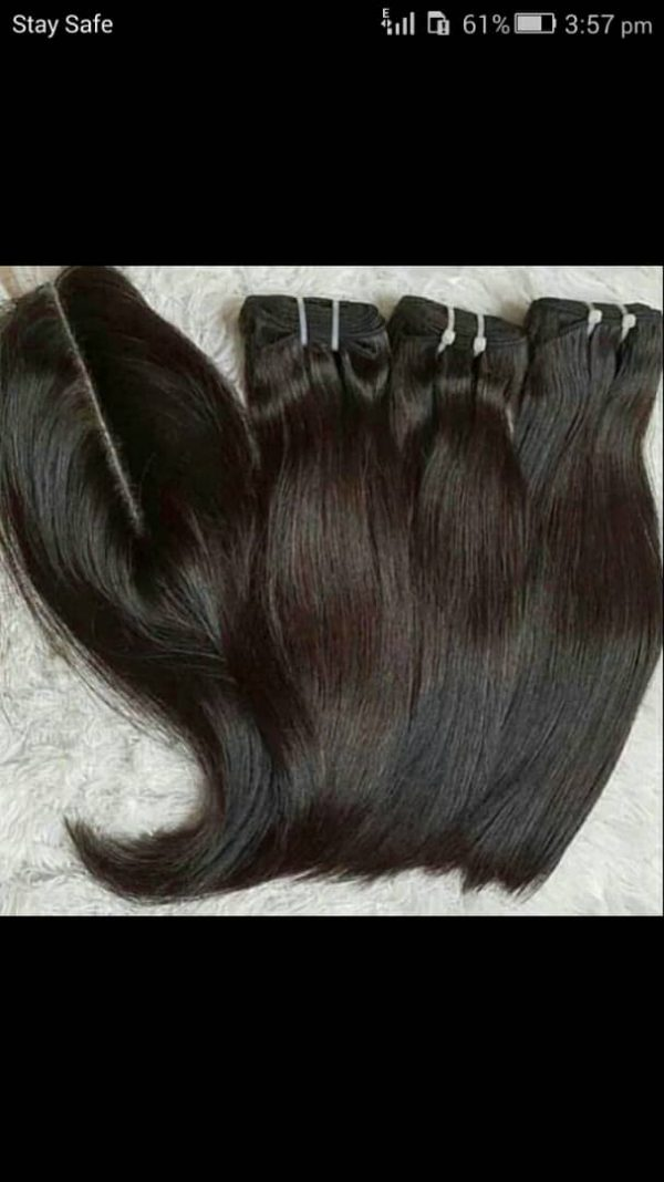 Double Down Human Hair Wigs In Lagos