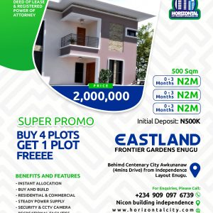 Affordable Land for sale In Enugu Nigeria