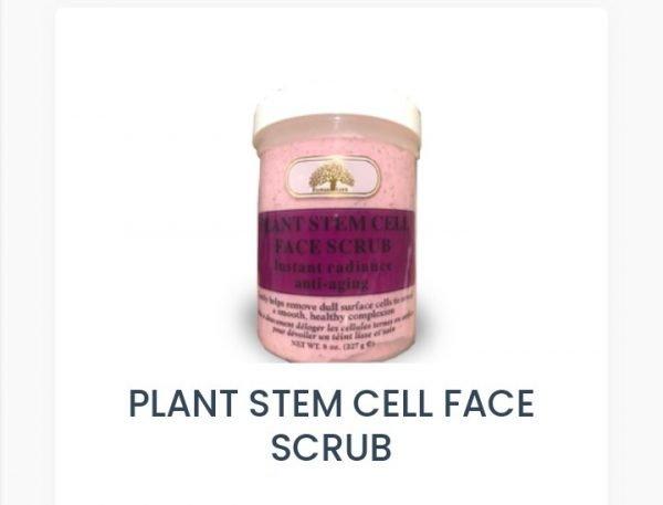 Buy Plant stem cell face scrub In Abuja Nigeria