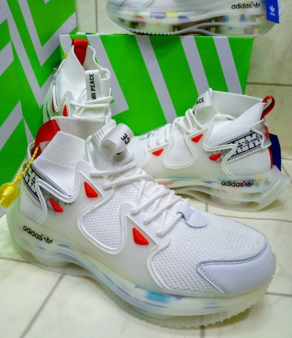 Mr Peace Custom Edition SneakersIn Lagos