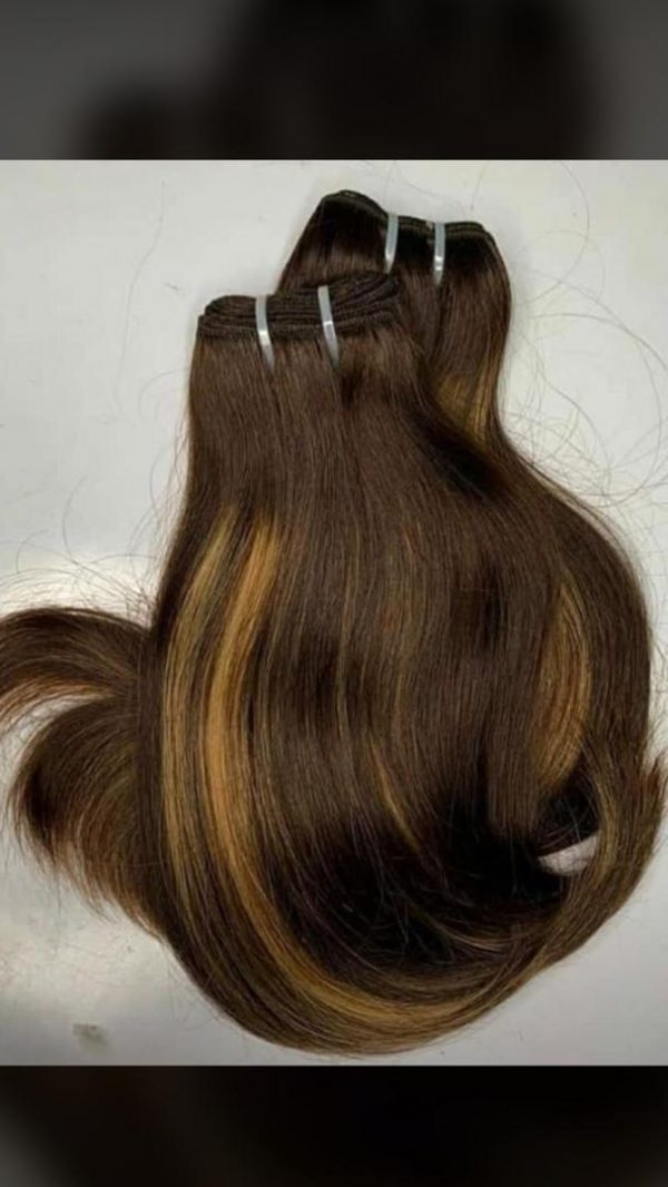 Double Drawn Human Hair In Nigeria For Sale