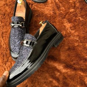 Black Loops Men's Shoes For Sale In Nigeria