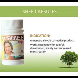 Shee Herbal Capsules For Menstruation In Nigeria